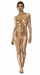 Nude Woman Standing NSFW by jpatterson