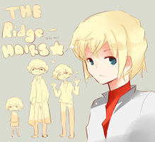 Ridge-Hair Family by kyunyo