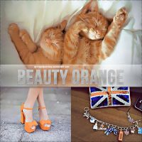 +Beauty orange action. by setthemusicfree