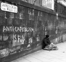 Anitcapitalism by BlueOrph