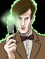11th doctor PRINT by phymns