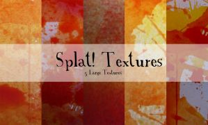 Splat Textures - Unrestricted by emothic-stock
