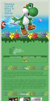 Journal CSS - Yoshi by hedspace77