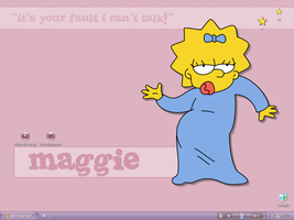 Maggie Simpson by lenii