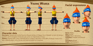 Young Wakka bio by albertdevi