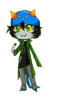 Nepeta Chibi by Swiftspill