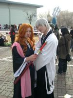 Rangiku and Ichimaru by Hemisphere-H