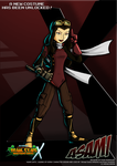Nicktoons - Asami (Alternate Costume) by NewEraOutlaw