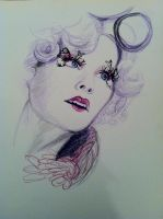 Effie Trinket by queen-of-muchness