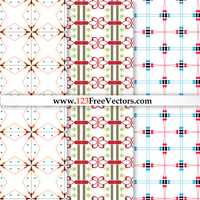 Seamless Damask Pattern Vector Graphics by 123freevectors