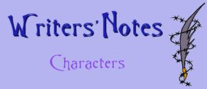 Writer Notes - Characters by DarkDelusion