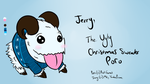 LoL: Jerry, the Ugly Christmas Sweater Poro by CookiesNLazars