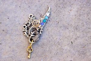 Chinese Dragon Charm-small by Vyntresser