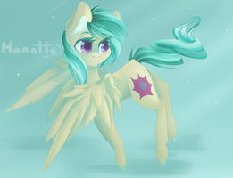 :C: Morning trot +speedpaint by HamaTTe