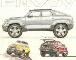 GMC Envoy Concept by SeawolfPaul