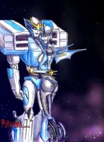 transformers prime r.i.d. strongarm X arcee by puticron