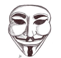 Guy Fawkes by valkyriesinger