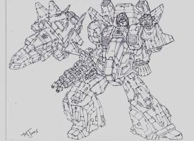 SKYFIRE SKETCH by Mjones456