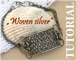 TUTORIAL wire-wrapping Bracele by MagdalenaMarszalik