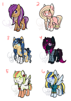::Pony Aderpts 1:: --CLOSED-- by cxnders