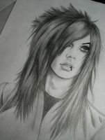 Andy Biersack by Ushio-Sama
