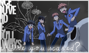 Are You Scared - Ouran by buhbiel