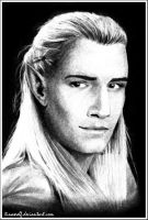 ::LOTR:: Legolas by Beresclet