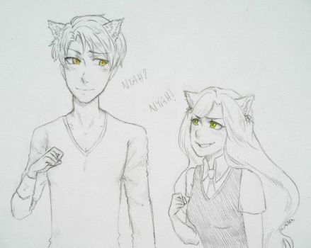 [McL] Cat Lovers by Millen123