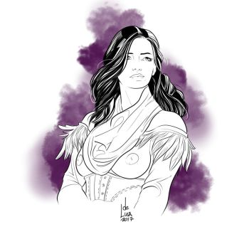 Yennefer of Vengerberg by artofdeluca