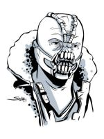 Bane from the movie by SachaLefebvre