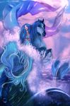Riding on the waves by lilok-lilok