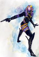 Tali'zorah by AzureWyvern