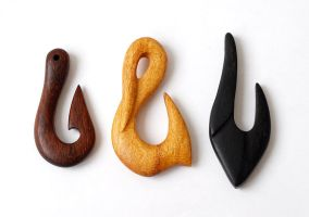 Wood hooks 1 by BDSart