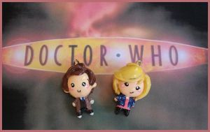 Chibi-Charms: Dr. Who by MandyPandaa