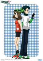 PKMN V - May and Max A4 (NEW VER.) by Blue90