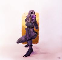 [Mass Effect] Tali'Zorah by Amaryan