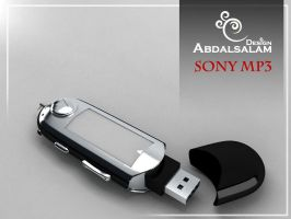 sony mp3 by AbdAlsalam