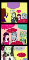 MH- When monsters dont know about zombie language by Albaharu