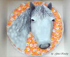 Horse Cake by ginas-cakes