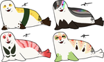 Seal Batch 2 [CLOSED] by Squidoptables