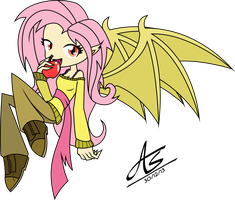 Flutterbat - Human by AudioBeatZz