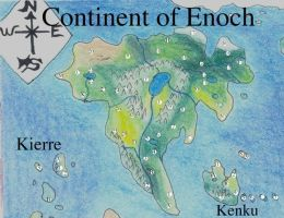 Enoch continent marked by ShelandryStudio