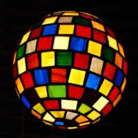 Stained Glass Lamp by johannachambers