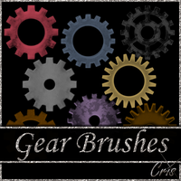Cris Gear Brushes by only1crisana