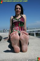 Hard Barefooter 5 by Footografo