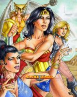 Bronze Age JLA Ladies by Dangerous-Beauty778