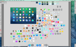Icons WIP Screenshot by nateblunt
