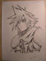 Cloud Strife - Crisis Core by Master-Tomoya