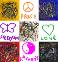 Peace Love Freedom Harmony by Twili603
