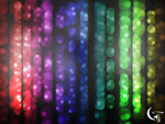 Linear Bokeh Wallpaper by GENAYNAY